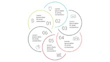 PowerPoint Infographic - Steps Circles 18