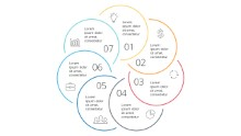 PowerPoint Infographic - Steps Circles 19
