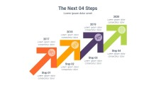 PowerPoint Infographic - Next Steps 038