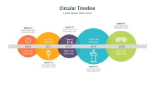 PowerPoint Infographic - Circles 041