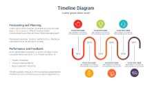 PowerPoint Infographic - Gradient Line 053