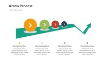 PowerPoint Infographic - Arrow Process Infographic Layout