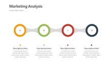 PowerPoint Infographic - Marketing 4 Circle Infographic Layout