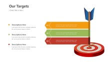 PowerPoint Infographic - Target Arrow Infographic Layout