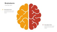PowerPoint Infographic - Brain Infographic Layout