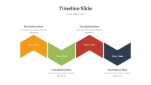PowerPoint Infographic - Timeline Infographic Layout