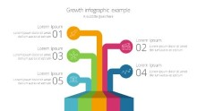 PowerPoint Infographic - Growth lines Infographic