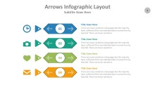 PowerPoint Infographic - Arrows 003