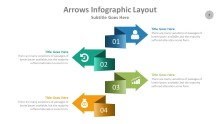 PowerPoint Infographic - Arrows 007