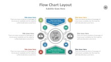 PowerPoint Infographic - Flow Chart 040