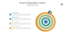 PowerPoint Infographic - Goals 029