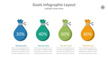 PowerPoint Infographic - Goals 033