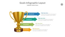 PowerPoint Infographic - Goals 034