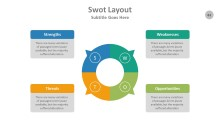 PowerPoint Infographic - SWOT 061