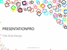 Download abstract color squares PowerPoint 2010 Template and other software plugins for Microsoft PowerPoint
