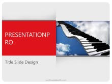 Download piano music PowerPoint 2010 Template and other software plugins for Microsoft PowerPoint