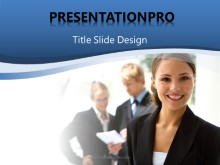 Download business woman PowerPoint 2007 Template and other software plugins for Microsoft PowerPoint