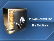The Vault PPT PowerPoint Template Background