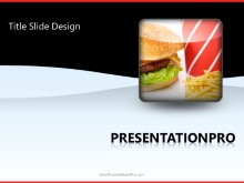 Download fast food meal PowerPoint 2010 Template and other software plugins for Microsoft PowerPoint