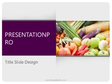 Download food variety PowerPoint 2010 Template and other software plugins for Microsoft PowerPoint