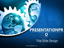 Download gears and globes PowerPoint 2007 Template and other software plugins for Microsoft PowerPoint