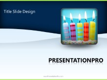 Download special occasion birthday candles PowerPoint 2010 Template and other software plugins for Microsoft PowerPoint