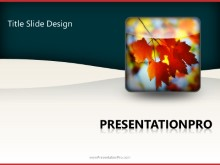 Download season fall leaves PowerPoint 2010 Template and other software plugins for Microsoft PowerPoint