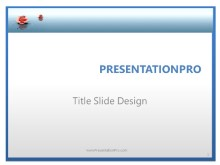 Premium Waterflower PPT PowerPoint Template Background