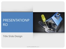Download household tools PowerPoint 2010 Template and other software plugins for Microsoft PowerPoint