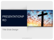 Download religion cross PowerPoint 2010 Template and other software plugins for Microsoft PowerPoint