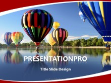 Download leisure hot air balloon PowerPoint 2010 Template and other software plugins for Microsoft PowerPoint