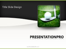 Download leisure sport golf PowerPoint 2010 Template and other software plugins for Microsoft PowerPoint