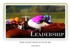 Leadership - Light PPT PowerPoint Motivational Quote Slide