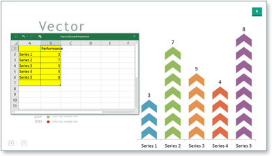 data-linked charts sync with excel spreadsheets for easy updating
