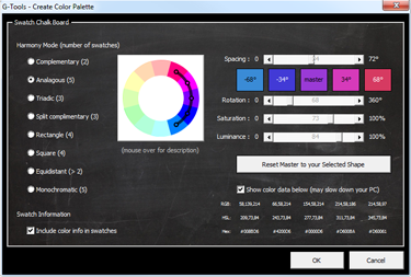 G-Tools Feature: Color Wheel