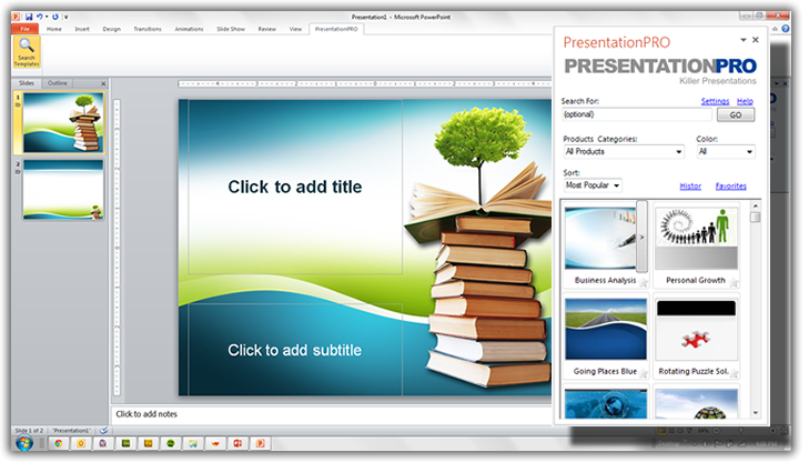 express plugin for powerpoint