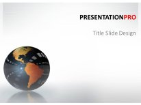 Download animated reflection globe Animated PowerPoint Template and other software plugins for Microsoft PowerPoint