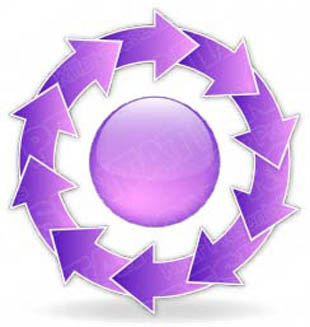 Download arrowcycle a 10purple PowerPoint Graphic and other software plugins for Microsoft PowerPoint