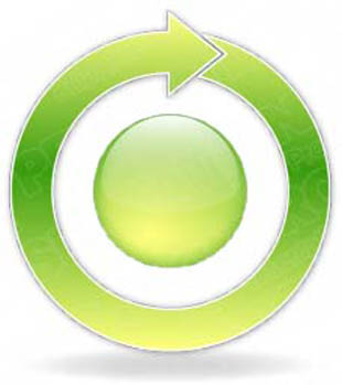 Download arrowcycle a 1green PowerPoint Graphic and other software plugins for Microsoft PowerPoint