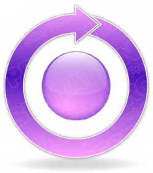 Download arrowcycle a 1purple PowerPoint Graphic and other software plugins for Microsoft PowerPoint