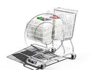 Shopping Cart Full Color Pen PPT PowerPoint picture photo