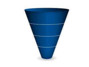 Funnels and Cones PPT presentation powerpoint graphic image