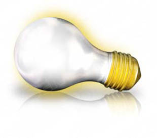 Download bulb side glowing PowerPoint Graphic and other software plugins for Microsoft PowerPoint