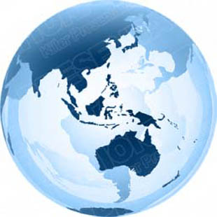 Download 3d globe australia blue PowerPoint Graphic and other software plugins for Microsoft PowerPoint