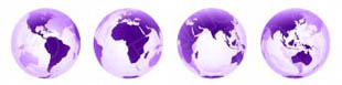 Download 3d globes purple PowerPoint Graphic and other software plugins for Microsoft PowerPoint