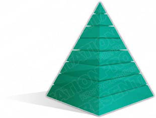 Download pyramid a 8teal PowerPoint Graphic and other software plugins for Microsoft PowerPoint