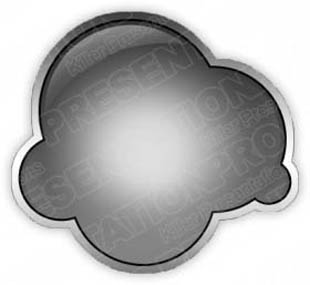 Download cloudbubblegray PowerPoint Graphic and other software plugins for Microsoft PowerPoint