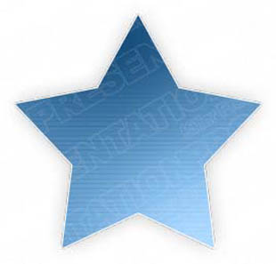 Download lined star1 blue PowerPoint Graphic and other software plugins for Microsoft PowerPoint
