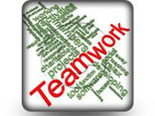Teamwork Word Cloud S PPT PowerPoint Image Picture
