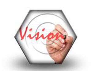 The Vision HEX PPT PowerPoint Image Picture